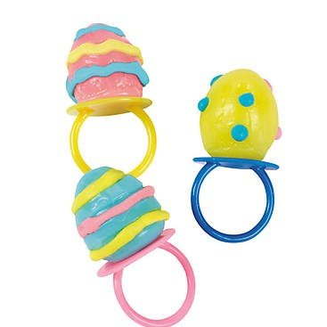 Egg-Shaped Sucker Rings - Candy and Food (Rings Sucker)
