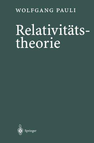 Relativitatstheorie  [Pauli, Wolfgang] (Tapa Dura)