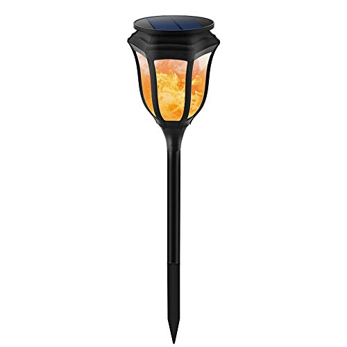 Chuangrong Solar Light Solar Landscape Light Solar Flame Light Outdoor Waterproof LED Light Decorative Garden Light by Chuangrong