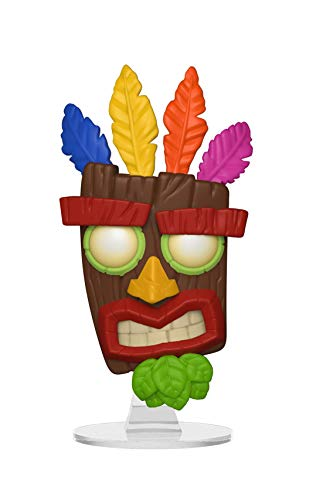 Funko Pop Games: Crash Bandicoot - Aku Aku Collectible Figure, Multicolor