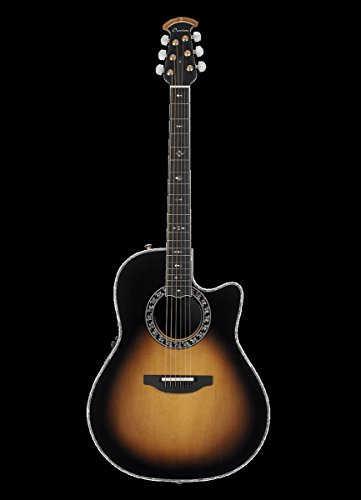 Ovation C2079LX-1 LX Custom Legend Acoustic-Electric Guitar, Sunburst -