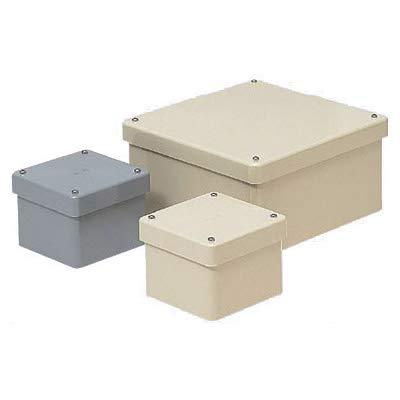 未来工業 正方形防水プールボックス(カブセ蓋ノック無) ミルキーホワイト 8個価格 PVP-1007BM   B078K2N18F
