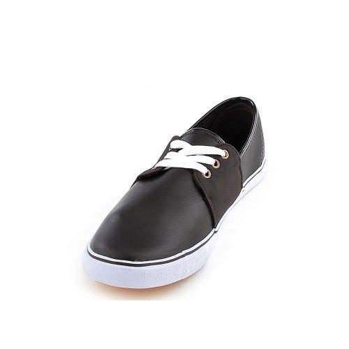 Shiekh Vrouwen Confy-03 Casual Sneaker Bruin Pu