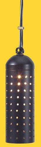 Corona CL-387-BK -Low Voltage/ 12V Hanging Light Aluminum Twinkle, 5.5