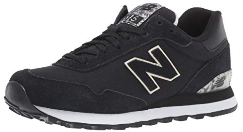 New Balance Women's 515v1 Sneaker, Black/Buttermilk, 11 D US