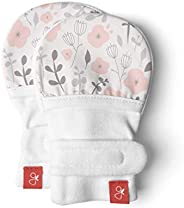 Bamboo/Organic Cotton No-Scratch Baby Mitts