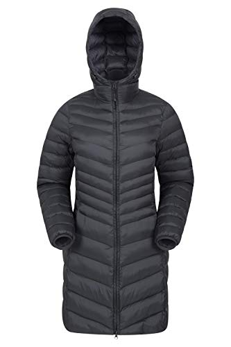 Mountain Warehouse Florence Womens Winter Long Padded Jacket – Water Resistant Rain Coat, Lightweight Ladies Jacket…