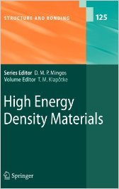 High Energy Density Materials (Structure and Bonding)