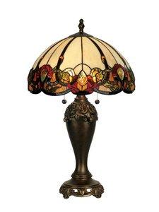 Dale Tiffany TT90235 Northlake Table Lamp, Bronze