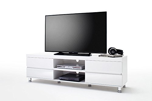 Noble Concept DIJON High-Gloss lacquered TV cabinet - Stylish European design TV console (Medium) Dijon Finish