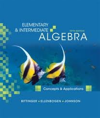 Download Elementary & Intermediate Algebra: Concepts and Applications 5th (fifth) edition pdf epub