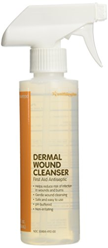 - Dermal Wound Skin / Wound Cleanser 8 fl oz Spray Bottle QTY: 1