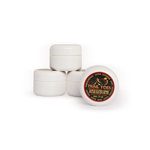 Trail Toes - Phenomenal Ultra Extreme - Anti Friction Foot and Body Cream - 4 Pack