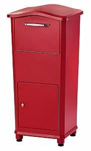 Architectural Mailboxes 6900R Elephantrunk Parcel Drop Box, Red