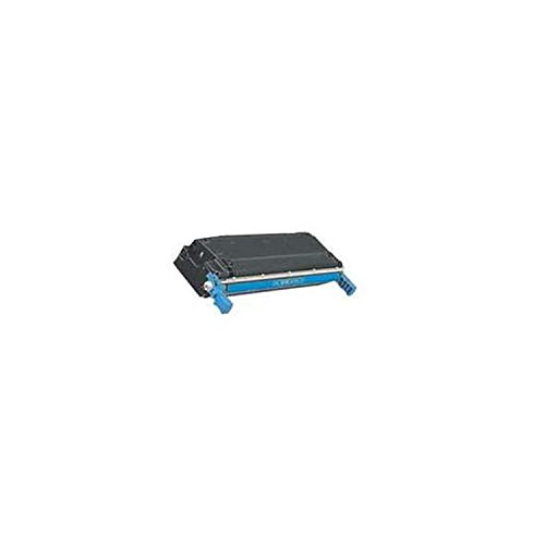 1 Pack Compatible Toner Cartridges: One Each Of C9731A Cyan- For Use With HP Color LaserJet 5500 and 5550 Series Printers (Cyan Series 5550 Toner)