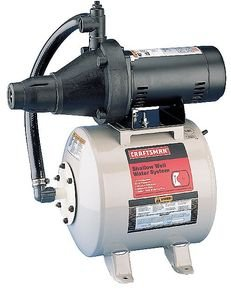 Wayne SWS50-12P 1/2 hp Shallow Well Jet Pump Conventional 12 gallon Tank (12 Gallon Square)