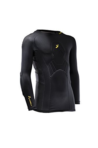 f0c19a54f84 Amazon.com : Storelli Sports BodyShield Long Sleeve Field Player Shirt  (Size:X-Large Color:Black) by Storelli Sports : Sports & Outdoors