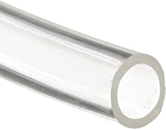 Tygon Tygothane C-210-A Abrasion-Resistant Precision Tubing, Clear