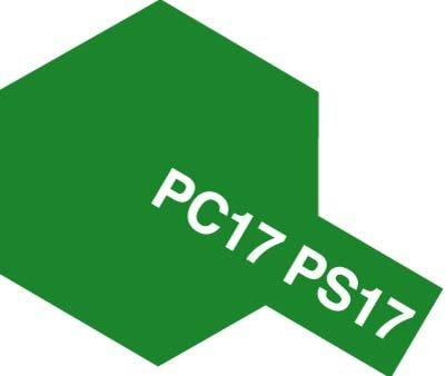 ■ポリカ筆塗PC17 メタリックグリーンポリカーボカラー 82017【タミヤ/TAMIYA】
