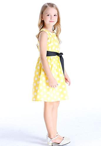 Bow Dream Vintage Little Girl Dress Sundress for Party