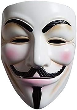 DMAR V para Vendetta Mask, Plástico ABS Anónimo Guy Fawkes Cosplay ...