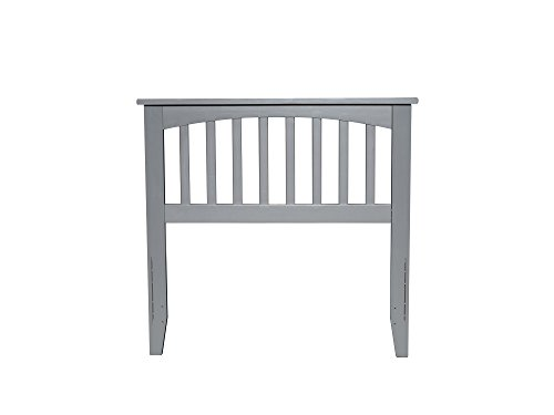 Wood Traditional Daybed (Atlantic Furniture AR287829 Mission Headboard, Twin, Grey)