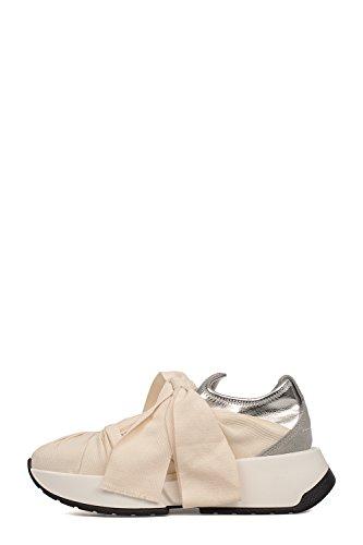 Maison Margiela 11 Mm6 Maison Margiela Damen S40ws0081s48863961 Beige Kunstleder Slip Op Sneakers