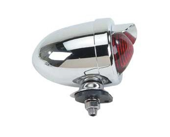 Red Bullet Bike Bicycle Tail Light