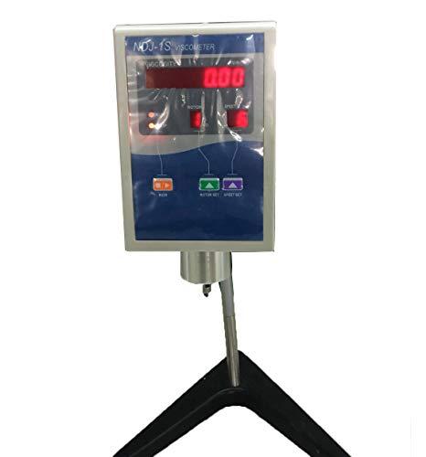 Digital Display Rotational Viscometer Viscosity Tester Meter with 4 Rotor NDJ-1S Rotary Viscosity Measurement Range 1 to 100000 mPa.s