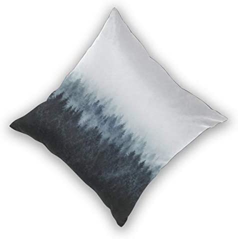 Cushion Covers Pack of 2 Cushion Covers Throw Pillow Cases Shells for Couch Sofa Home Decor High and Low MTM 45cm x ...