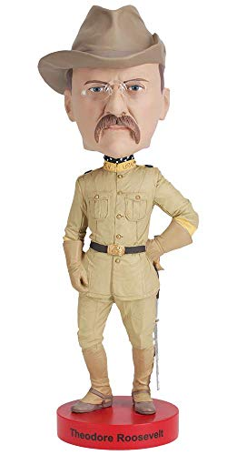 - Royal Bobbles Teddy Roosevelt Bobblehead