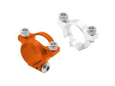 Rakon CNC AL Tail Boom Mount Set (Orange) - Blade 230S 230S613-O