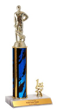 11'' Cricket Trim Trophies by QuickTrophy