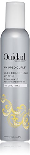 Ouidad Recovery Whipped Curls Daily Conditioner and Styling Primer, 8.5 Fl Oz