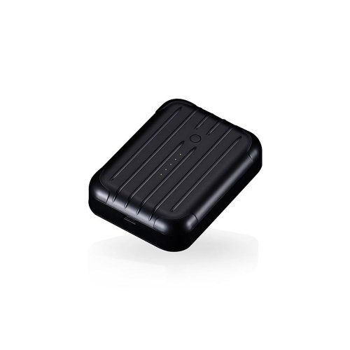 Just Mobile Gum++ 6000 mAh Backup Battery for Smartphones and USB Devices - Retail Packaging - Black - Just Mobile Recharge