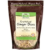 NOW Foods - Healthy Foods Dices Crystallized Ginger - 16 oz. ( Multi-Pack)