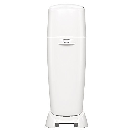 : Playtex Diaper Genie Complete Diaper Pail with Odor Lock Technology, White