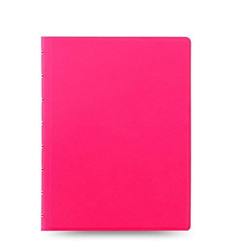 - Filofax Saffiano Fluoro A5 Notebook in Pink | New 2018 Color!