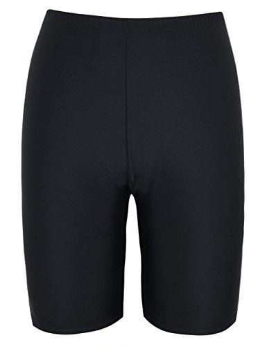 ddd75f591e770 Hilor Women's UV Long Bike Shorts Rash Guard Boy Leg Swim Bottom Active  Sport Pants