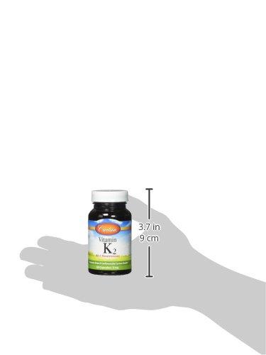 Carlson Labs Vitamin K 2 5mg Capsules