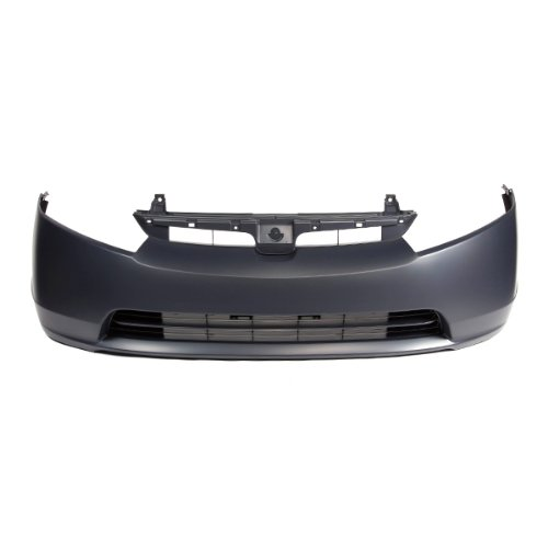 CarPartsDepot, Primed Plastic 4dr Front Bumper Cover CAPA Certified Part, 352-20559-10-CA HO1000239 04711SNEA90ZZ