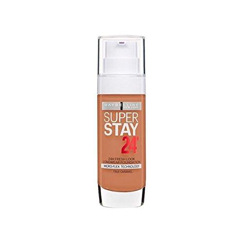メイベリン 24時間リキッドファンデーション58キャラメル30ミリリットル x4 - Maybelline SuperStay 24h Liquid Foundation 58 Caramel 30ml (Pack of 4) [並行輸入品] B0716DFTRQ