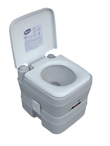 "STANSPORT - ""Easy Go"" Portable Camp Toilet for Emergency Outdoor Restroom"