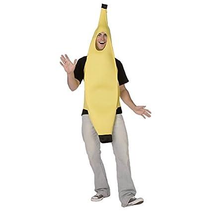 Disfraz de plátano adulto - Única: Amazon.es: Juguetes y juegos