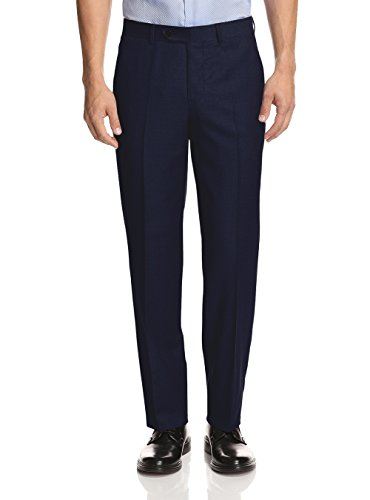 Presidential Giorgio Napoli Men's Suit Separates Dress Pants (40 W / Unhemmed, Navy - Presidential Suits