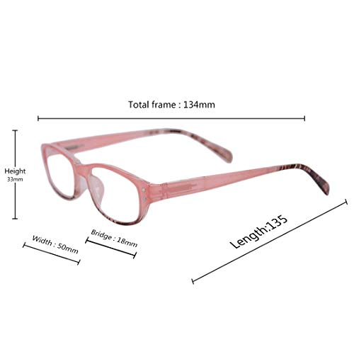 de 0 5 full 2 0 frame retro fashion 1 2 pack 5 3 lunettes lecture 5 Poudre 1 5 Unisexe 3 Inlefen 0 fW8g84