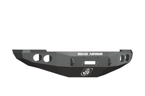 (Road Armor 40800B Satin Black Front Stealth Winch Bumper for Dodge RAM)
