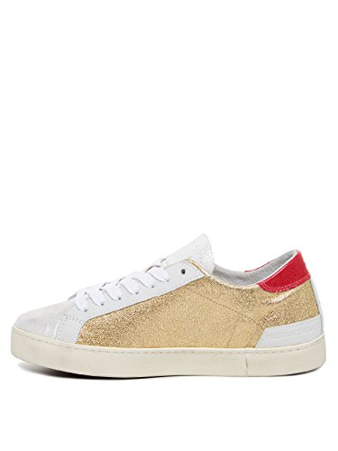 Sneakers Donna oro D t e Low 14e Hill basse a WS7qHa