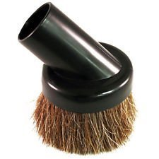 SCStyle Universal Soft Horsehair Bristle Vacuum Cleaner Dust Brush. Fits All Vacuum Brands Accepting 1 1/4