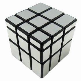 YJ Spiegel Cube 3x 3silber schwarz YJ7909